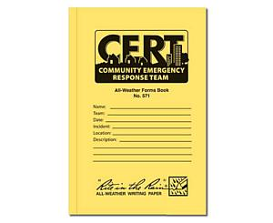 All Weather 48 Page C.E.R.T. Standard Forms Book