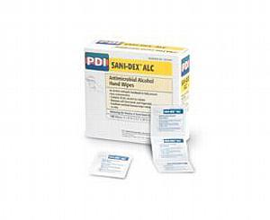 Sani-Dex ALC Antimicrobial Alcohol Gel Hand Wipes , Box/100