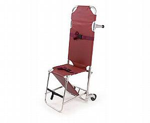 Model 107 Combination Stretcher Chair - Burgundy