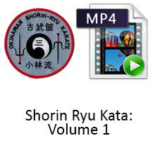 Shorin Ryu Kata: Volume 1 Digital Download