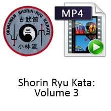 Shorin Ryu Kata: Volume 3 Digital Download