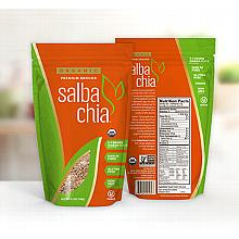 Salba Chia Organic Premium Ground -  5.3oz/container - approx 10 servings