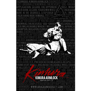 """Kimura: Submission Series 3/10 Poster (11x17"""")"""