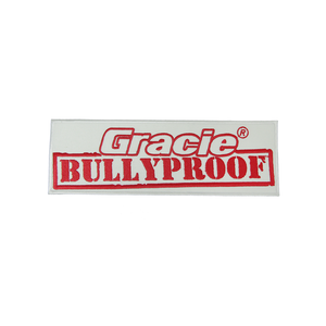 "(4.75x1.75"") Small Gracie Bullyproof Patch"
