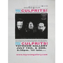 "Toyroom ""Meet The Culprits"" Show Poster"
