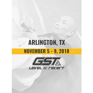 Level 2 Re-Certification: Arlington, TX (November 5-8, 2018)