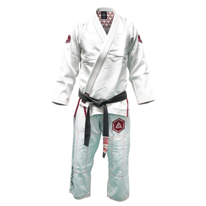 Girl's Limited Edition Slim Fit Pearl Hex Gi (Burgundy)
